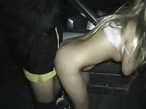 Slutty Wife's Night Out - Two Lucky Strangers