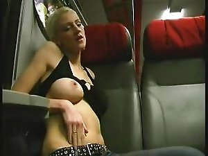 German amateur girl fucked in swiss train