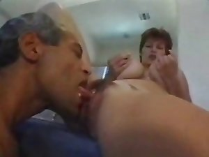 Milf with big tits and ass gets fucked by big dicks