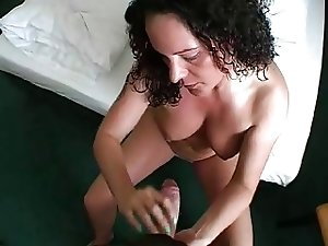 Busty german in porn casting with creampie