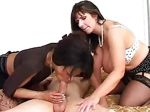 MILFs sharing Young Guy...F70
